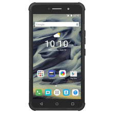 Load image into Gallery viewer, AMZER  Warrior Hybrid Case for Alcatel OneTouch Pixi 4 6 Inch - Black/Black