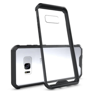 SlimGrip Shockproof Hybrid Case with Black Trim for Samsung Galaxy S8 Plus
