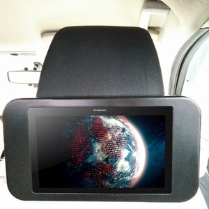 Amzer Universal Lockable Headrest Tablet Mount for Samsung GALAXY Tab 10.1 P7100, Apple iPad, Nokia Lumia 1020