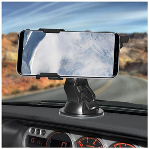 AMZER Suction Cup Mount for Windshield, Dash or Console