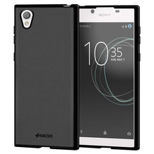 Load image into Gallery viewer, AMZER Shockproof Pudding Soft TPU Skin Case for Sony Xperia L1 - Black