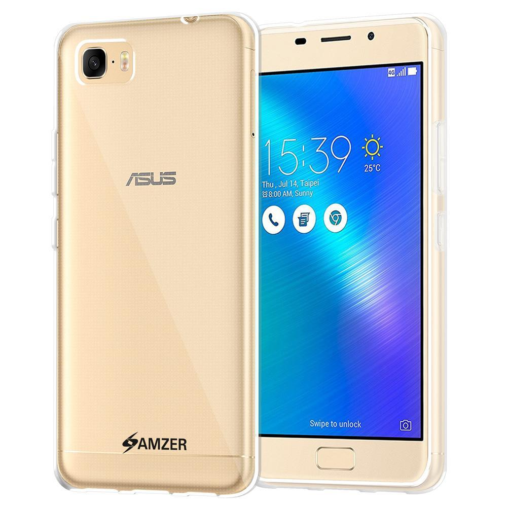 AMZER Pudding TPU Case - Cloudy Clear for Asus ZenFone 3s Max ZC521TL