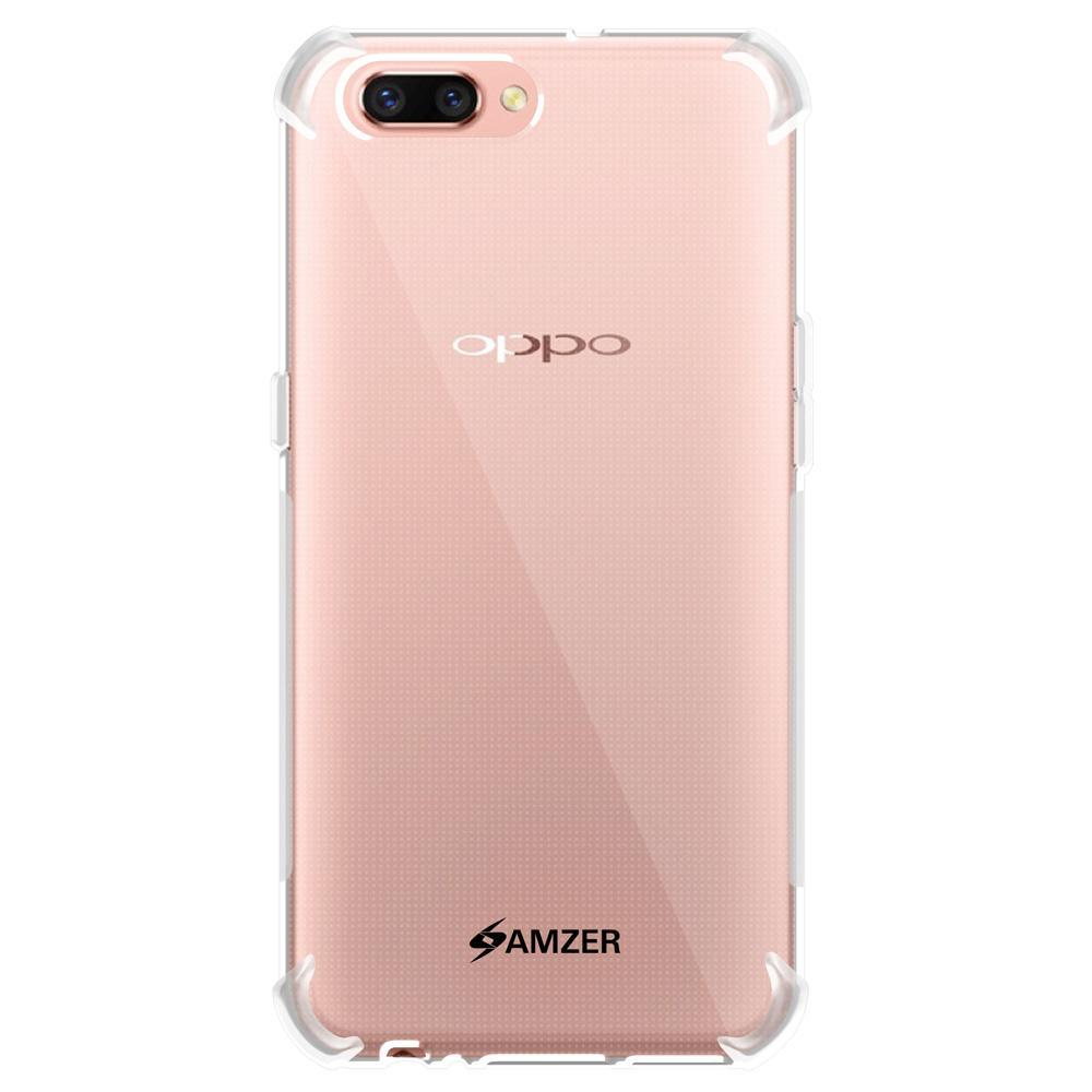 AMZER Pudding TPU X Protection Case - Crystal Clear for Oppo R11