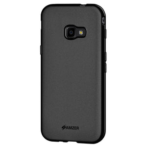 AMZER Pudding TPU Case - Black for Samsung Galaxy Xcover 4 SM-G390F