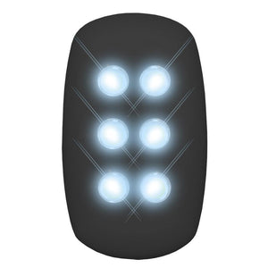 AMZER® Self Powered Safety Jogging Night Light - Black