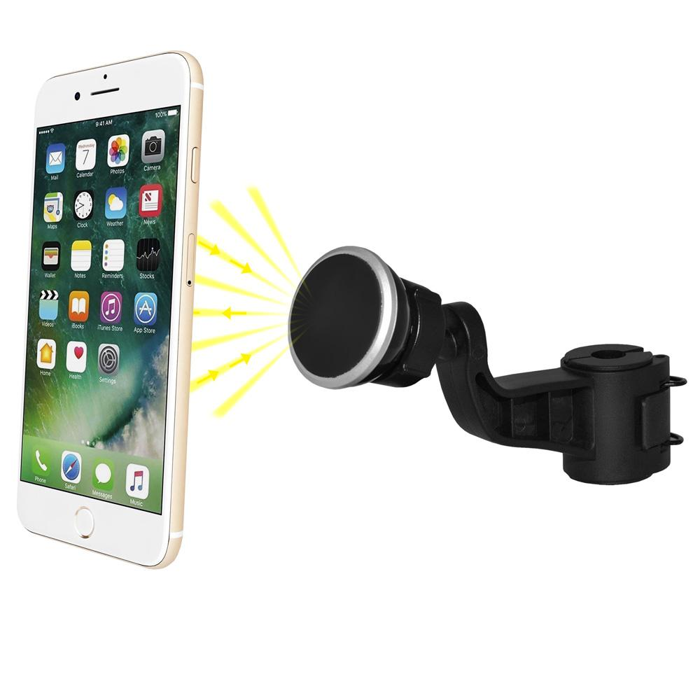 AMZER Universal Magnetic Microphone/ Music Stand Mount - Black for BlackBerry Z10, iPhone 5, Samsung Galaxy Note II GT-N7100