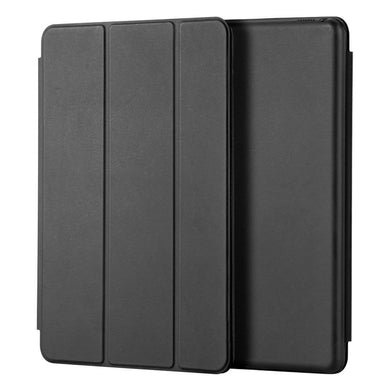 AMZER® Shell Portfolio Case - Black Leather Texture for Apple iPad Pro 10.5