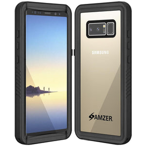 AMZER CRUSTA WaterProof & ShockProof IP68 Certified Full Body Case for Samsung Galaxy Note8 SM-N950U