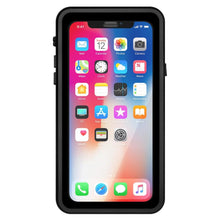 Load image into Gallery viewer, AMZER CRUSTA WaterProof & ShockProof IP68 Certified Full Body Case for iPhone X