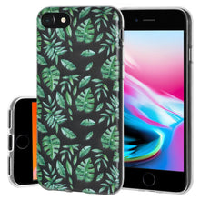 Load image into Gallery viewer, Ultra Thin Protective Cover Soft Gel Shockproof TPU Skin Case Woodland Fern for iPhone 8 - Clear