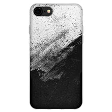 Load image into Gallery viewer, Protective Cover Soft Gel Shockproof TPU Skin Case Abstract Black And White for iPhone 8 - Clear
