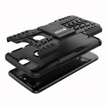 Load image into Gallery viewer, AMZER Shockproof Warrior Hybrid Case for OnePlus 5T - Black/Black