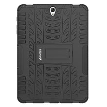 Load image into Gallery viewer, AMZER  Warrior Hybrid Case for Samsung Galaxy Tab S3 9.7 - Black/Black