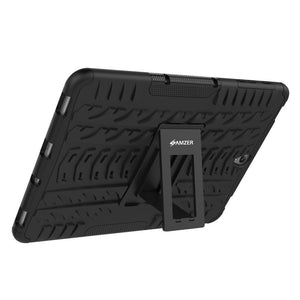 AMZER  Warrior Hybrid Case for Samsung Galaxy Tab S3 9.7 - Black/Black