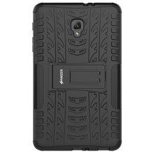 Load image into Gallery viewer, AMZER  Warrior Hybrid Case for Samsung Galaxy Tab A 2017 - Black/Black