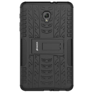 AMZER  Warrior Hybrid Case for Samsung Galaxy Tab A 2017 - Black/Black