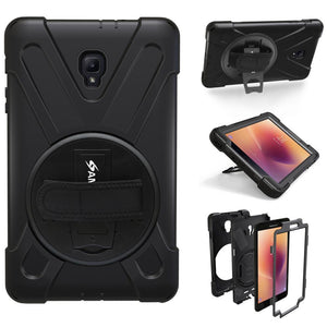 AMZER TUFFEN Case - Black for Samsung Galaxy Tab A 2017 SM-T385