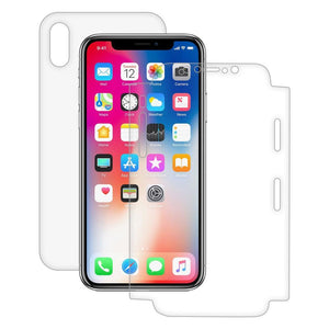 AMZER ShatterProof Screen Protector - Full Body Coverage for iPhone X