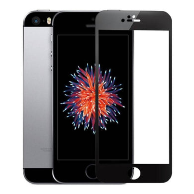 AMZER® Kristal™ Tempered Glass HD Screen Protector - Black for iPhone 5