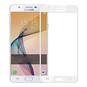 AMZER® Kristal™ Tempered Glass HD Screen Protector - White for Samsung Galaxy J7 Prime