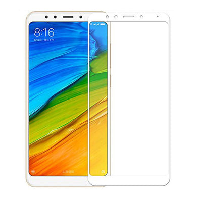 AMZER® Kristal™ Tempered Glass HD Screen Protector - White for Xiaomi Redmi 5