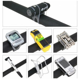 5 PCS Bike Bicycle High Strength Straps Holder For Cellphone, Lights, Computer (Random Color)