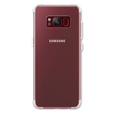 AMZER Pudding TPU X Protection Case - Crystal Clear for Samsung Galaxy S8