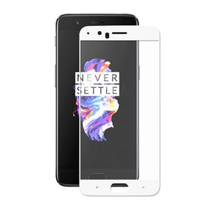 AMZER® Kristal™ Tempered Glass HD Screen Protector - White for OnePlus 5