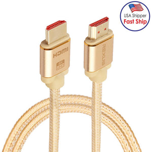 1m HDMI 2.0 4K 1080P Aluminium Alloy Shell Line Head Gold-plated Connectors HDMI Male to HDMI Male A