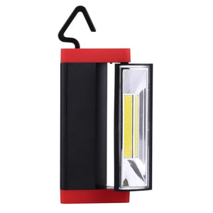 4W Triangle Shape COB LED Working Lamp With 180 Degree Rotation with Hook & Magnet - Random Color