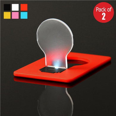 LED Pocket Lamp Creative Ultrathin Card Light (Random Color Delivery)