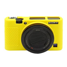 Load image into Gallery viewer, AMZER Soft Silicone Protective Case for Sony RX100 III / IV / V - Yellow