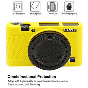 AMZER Soft Silicone Protective Case for Sony RX100 III / IV / V - Yellow