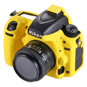 AMZER Soft Silicone Protective Case for Nikon D750 - Yellow