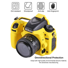 Load image into Gallery viewer, AMZER Soft Silicone Protective Case for Nikon D750 - Yellow
