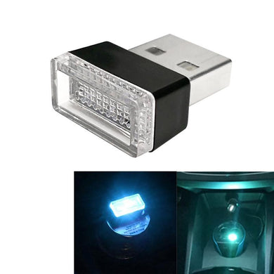 AMZER Universal USB LED Atmosphere Lights Emergency Lighting Decorative Lamp - Ice Blue