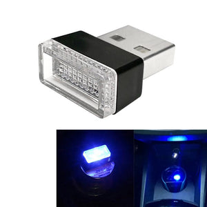 AMZER Universal USB LED Atmosphere Lights Emergency Lighting Decorative Lamp - Blue