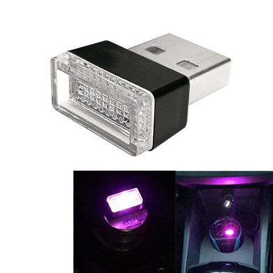 AMZER Universal USB LED Atmosphere Lights Emergency Lighting Decorative Lamp - Purple