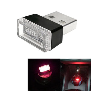 AMZER Universal USB LED Atmosphere Lights Emergency Lighting Decorative Lamp - Red