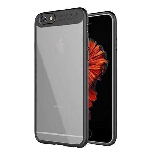 AMZER Bare Hands Hybrid Protection Case - Black for iPhone 6