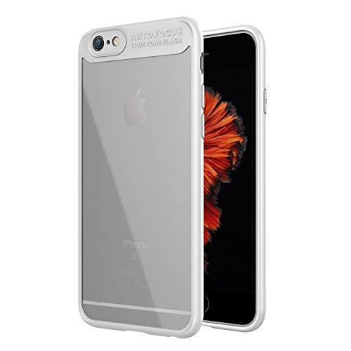AMZER Bare Hands Hybrid Protection Case - White for iPhone 6 Plus