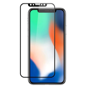 AMZER® Kristal™ 9H Tempered Glass Edge2Edge Screen Protector - Black for iPhone Xr