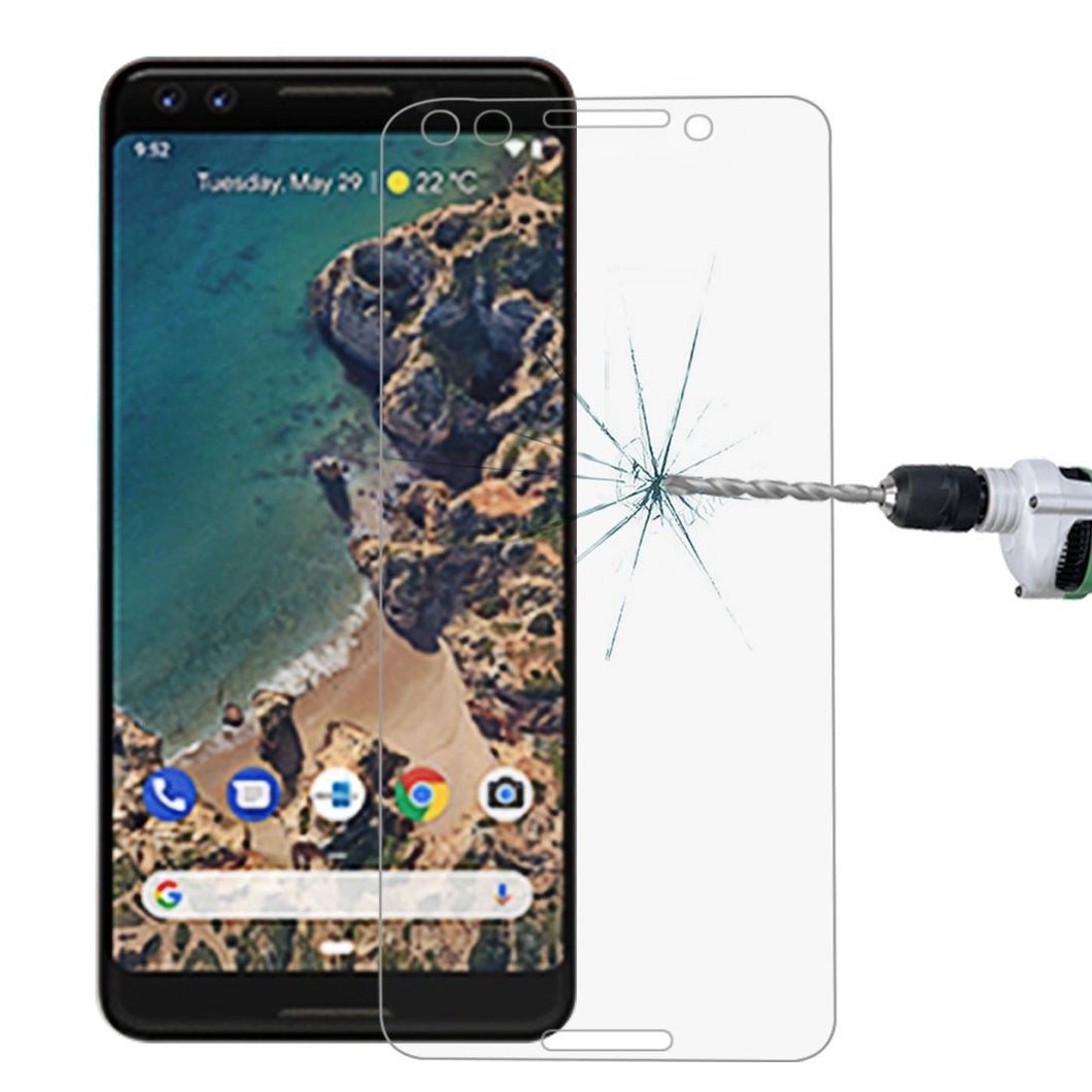 AMZER Anti Scratch 9H Tempered Glass Screen Protector for Google Pixel 3 - Clear