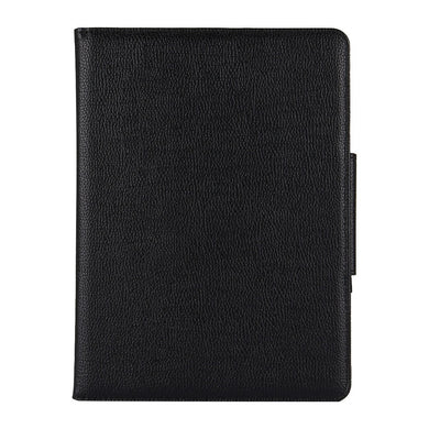 AMZER Texture Horizontal Flip Leather Case With Holder & Detachable Bluetooth Keyboard for Apple iPad Pro 11 Inch 2018 - Black