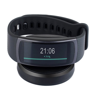 Samsung Gear Fit2 Charging Cradle Dock Smart Watch Charger - Black