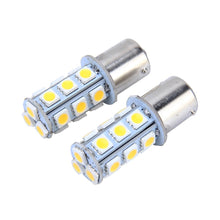 Load image into Gallery viewer, AMZER 3W 18 SMD 5050 LEDs Car Turn Light, DC 12V (Pack of 2) - Yellow