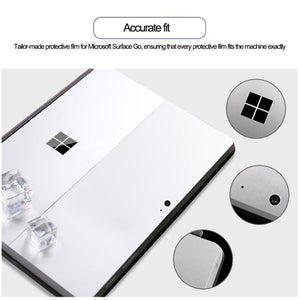 AMZER Back Cover Film Protector Tablet for Microsoft Surface Go- Silver