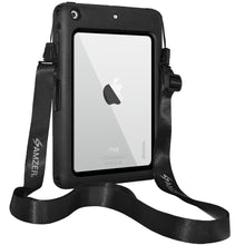 Load image into Gallery viewer, AMZER CRUSTA Rugged Case Black on Black Shell Tempered Glass for Apple iPad mini