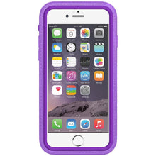 Load image into Gallery viewer, AMZER CRUSTA Rugged Case Purple on Purple Shell With Tempered Glass for iPhone 6 Plus