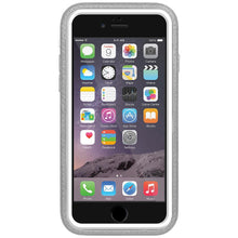 Load image into Gallery viewer, Amzer CRUSTA™ Rugged Case Grey on White Shell Tempered Glass for iPhone 6s, iPhone 6